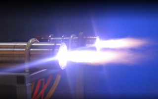Plasma atomization. Photo via PyroGenesis.