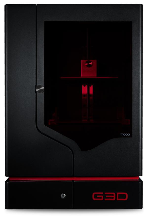 The G3D T-1000 3D Printer.