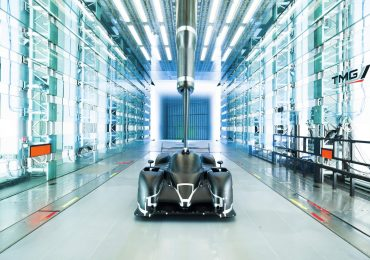 Wind tunnel testing at Toyota Motorsport GmbH. Photo via toyota-motorsport-photos