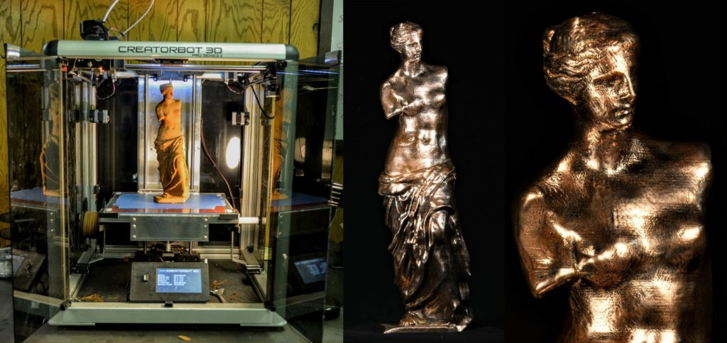 The Virtual Foundry 3D print of Venus de Milo.