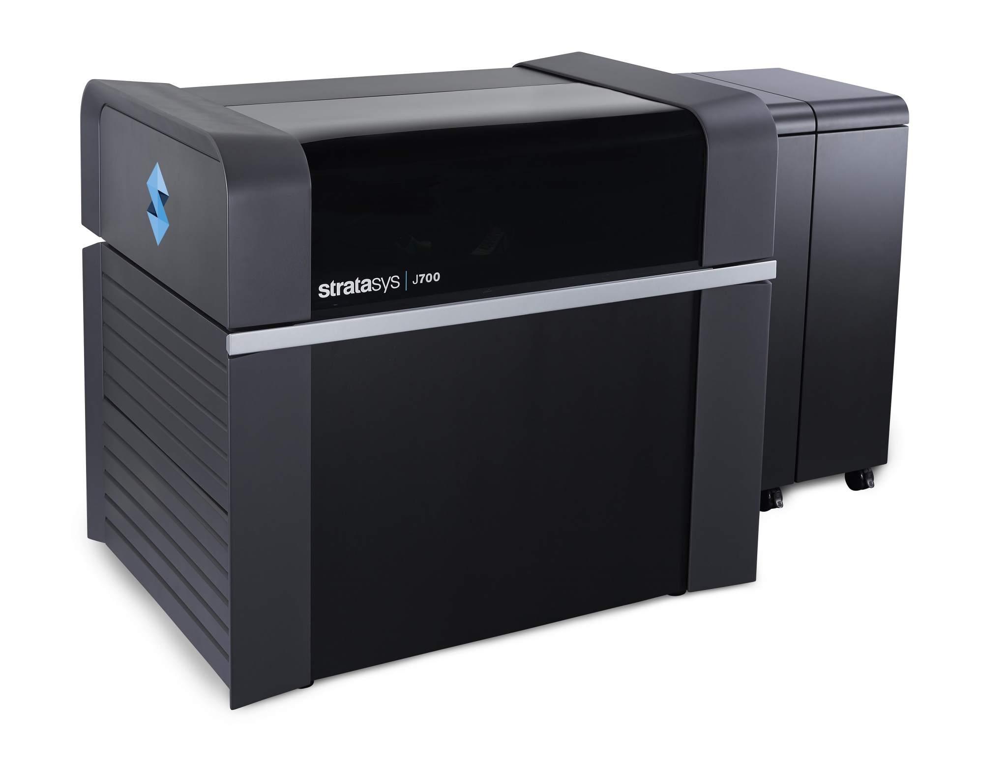 The Stratasys J700 3D printe. Image via Stratasys.