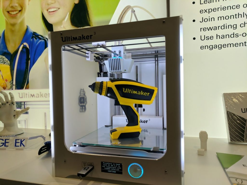 The Ultimaker 3. Photo by Michael Petch