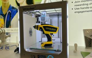 Ultimaker 3. Photo by Michael Petch