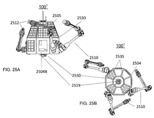 Made in Space patent for additive manufacturing of spacecraft devices in space published