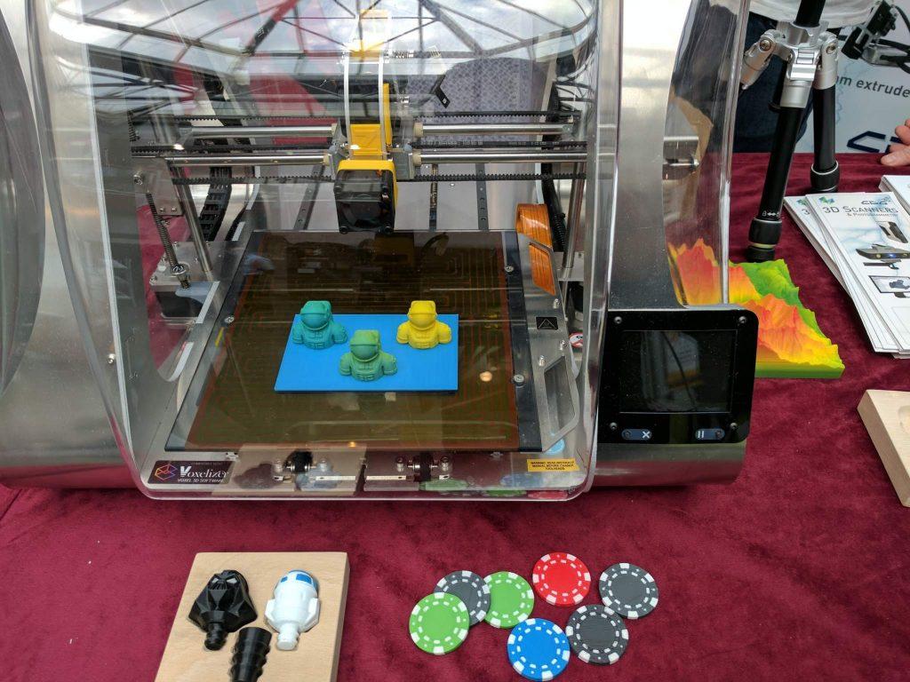 ZMorph 3D printer at Develop 3D Live. Photo by Michael Petch.