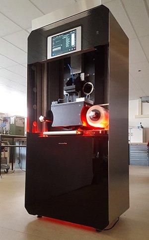 The ADMETALFLEX metal 3D printer. Photo via Admatec.