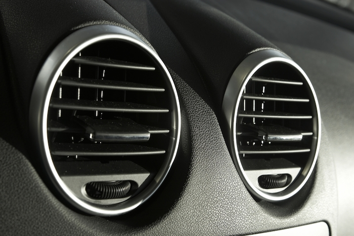 Somos Taurus is ideal for making hard, opaque, end-user parts such as the air-conditioning vents in cars. Photo via Toyota of Orlando