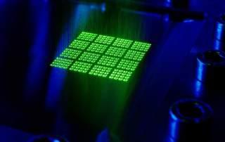 Fraunhofer's helical optics. Image via Fraunhofer ILT.
