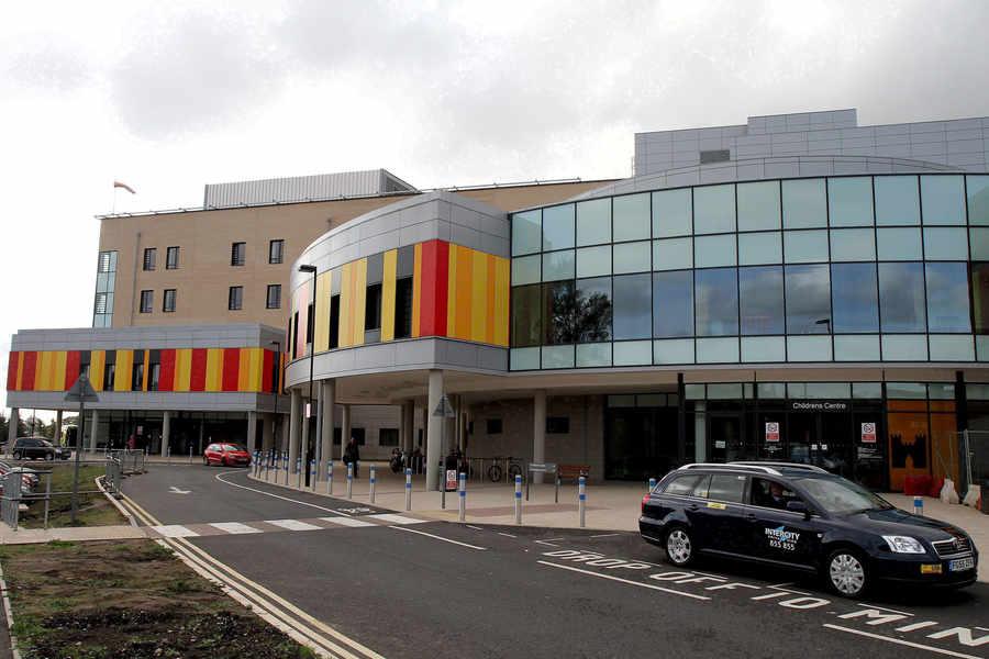 The Royal Stoke University Hospital Photo via expressandstar.com