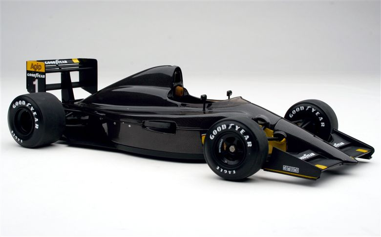 1990 Formula 1 Carbon Fiber Test Car. Photo via exoto.com