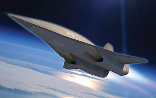 The Lockheed Martin SR-72 concept vehicle. Image via Lockheed Martin.