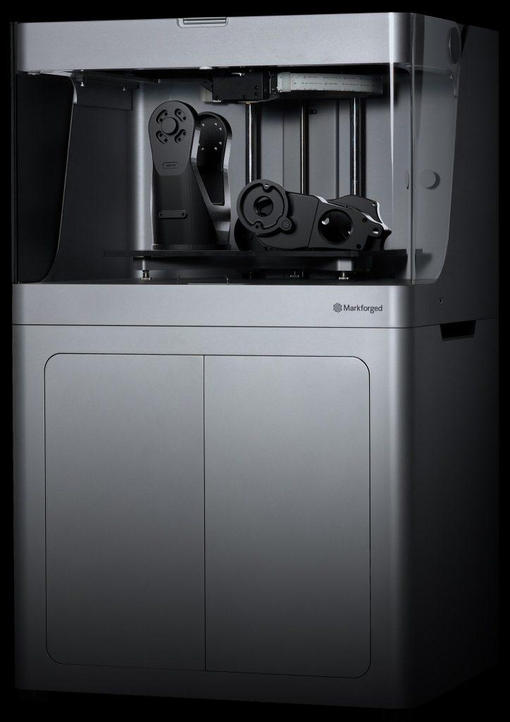The Mark X 3D printer. Photo via Markforged