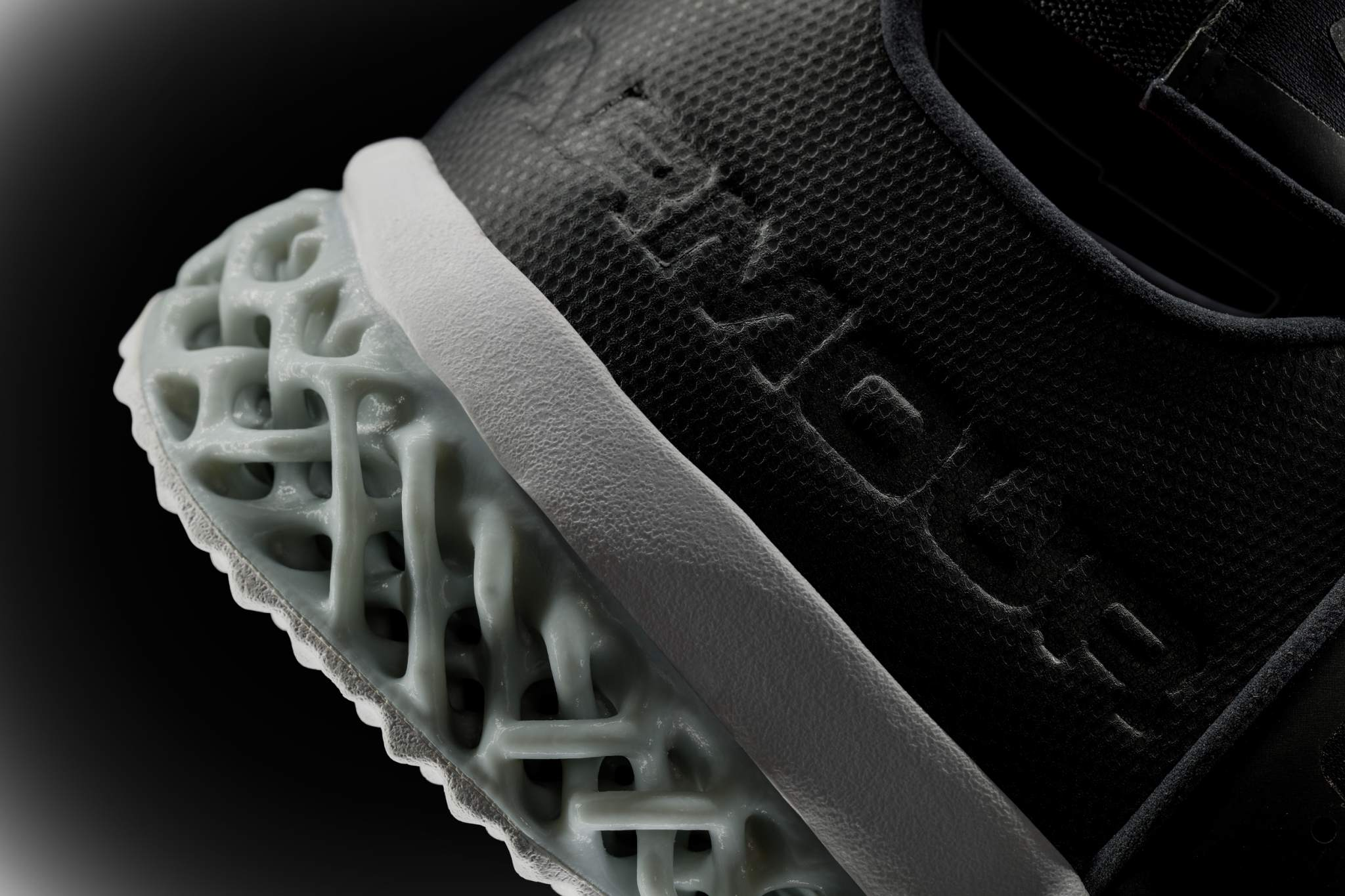 3D printed midsole of the Architech Futurist. Image via Under Armour.