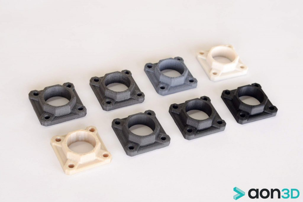 Multi material options for 3D printing.