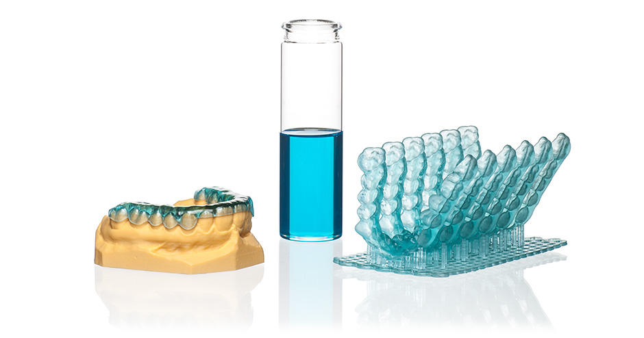 The NextDent Ortho Rigid resin can be used with the Figure 4. Image via 3D Systems.