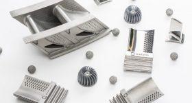 Examples of Sintavia's metal additive manufacturing capabilities. Image via Sintavia.