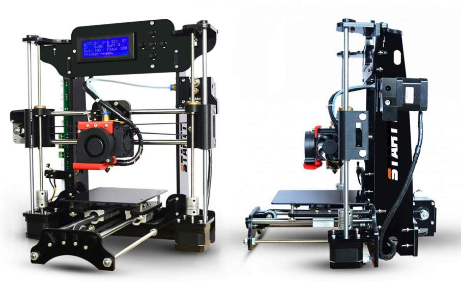The STARTT sub $100 3D printer. Photo via iMakr