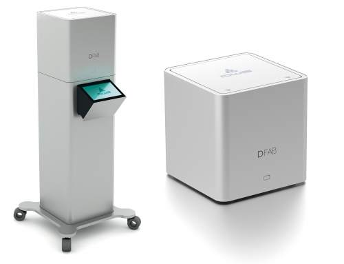 DWS launch DFAB 3D printer capable of producing natural looking teeth in just 20 minutes
