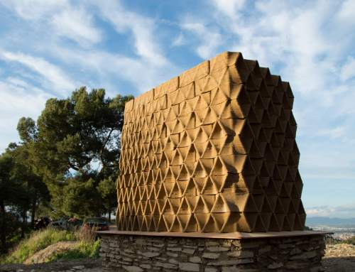 Institute for Advanced Architecture of Catalonia takes a natural approach to on site 3D printing for construction
