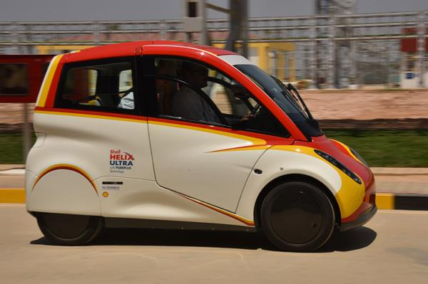 The Shell concept car. Photo via Autocar India.