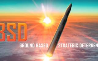 The GBSD missile. Image via Lockheed Martin.