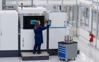 3D printing workshop in Finspong. Photo via Siemens.