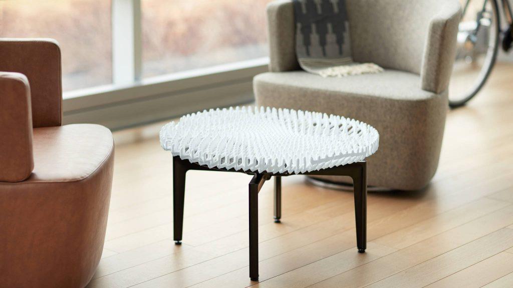 Bassline table from Steelcase. Design by Christophe Guberan