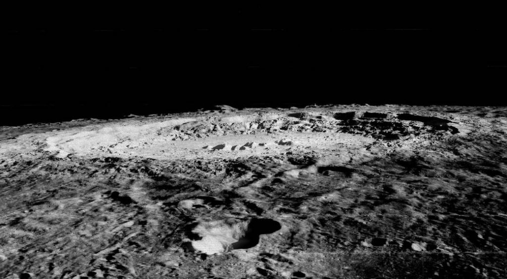 Home sweet home? The Copernicus crater on the surface of the moon. Image via NASA