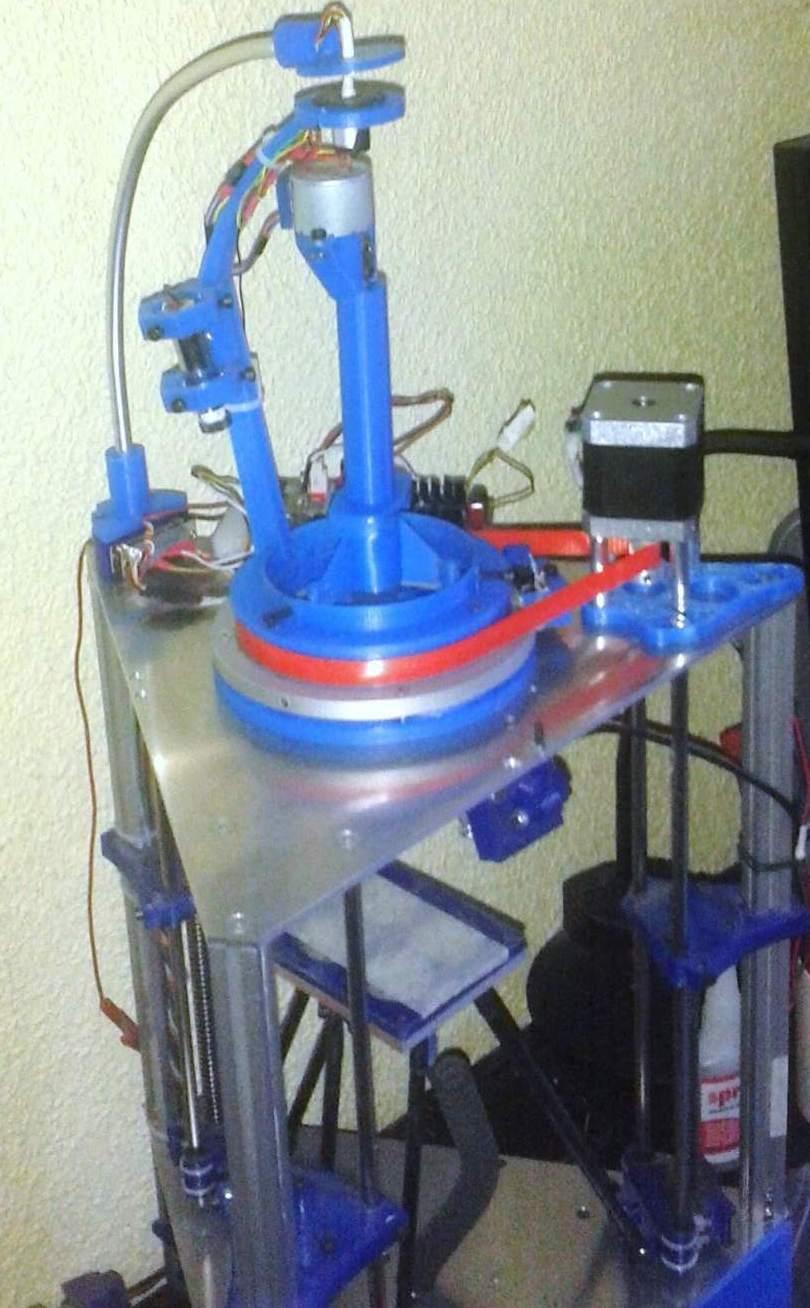 Brother Run Tech Initiative Merge Fdm Process With Sla To Create Make A Printed Circuit Board Using Diode Laser 3d Printer The Prototype Rdm Machine Photo Via Diyouware