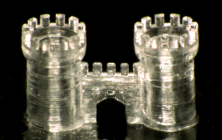 3D Printing Glass from  Karlsruhe Institute of Technology (KIT). Photo via Nature.