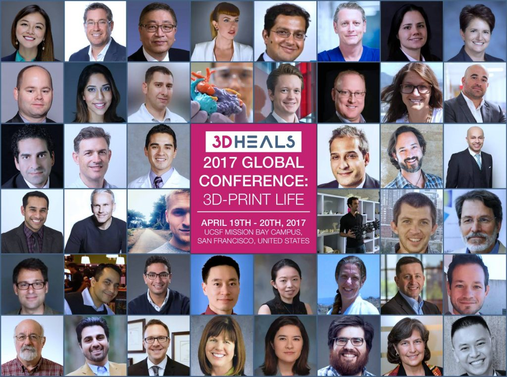 3D Heals 2017 Global Conference 3D-Print Life. Photo via 3D Heals.