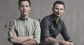 3D Hubs founders Brian Garret (left) and Bram de Zwart (right). Photo via 3D Hubs.