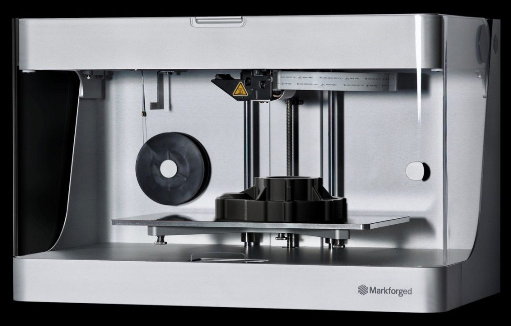 The Markforged Mark Two 3D printer. Image via Markforged.