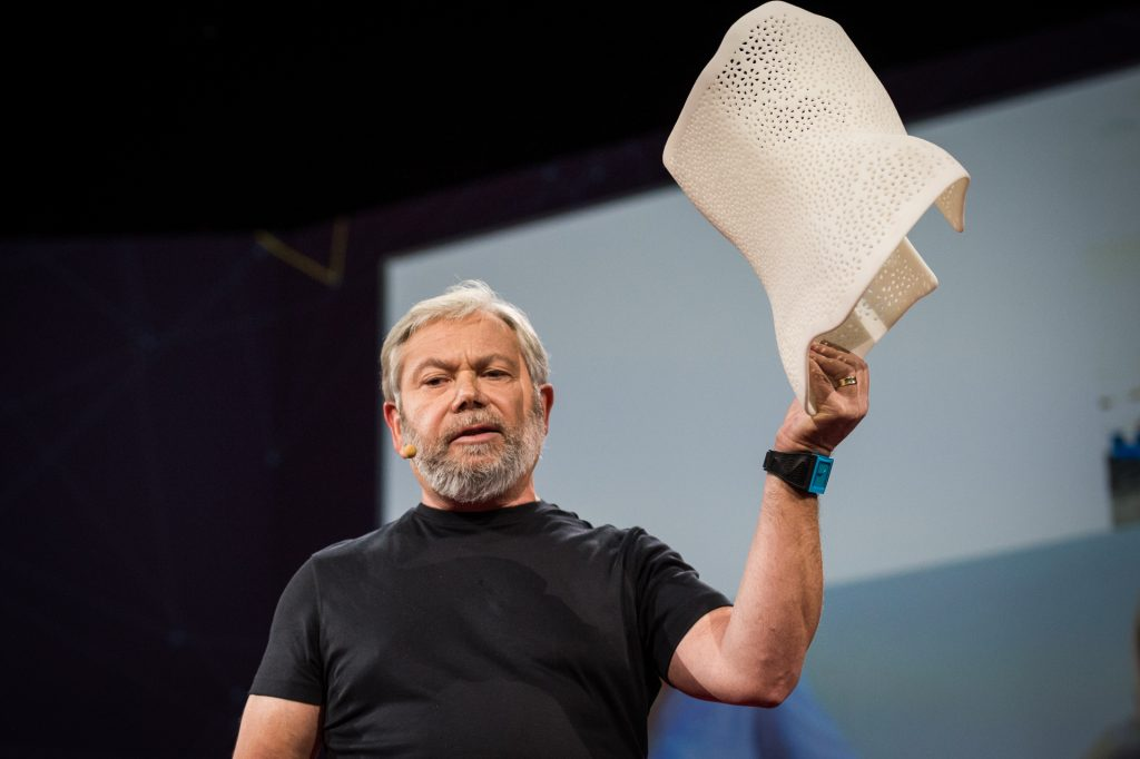 Avi Reichental at TED2014. Photo: James Duncan Davidson