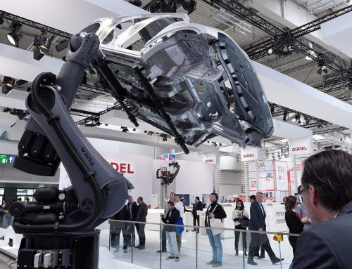 3D printing and industry 4.0 innovations at Hannover Messe featuring Canon, MIT and GE