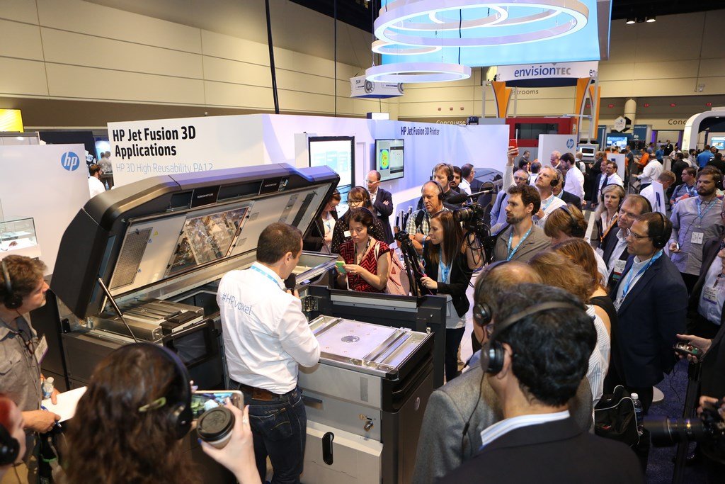 The HP MultiJet Fusion causing a stir last year in Florida. Photo via Rapid.