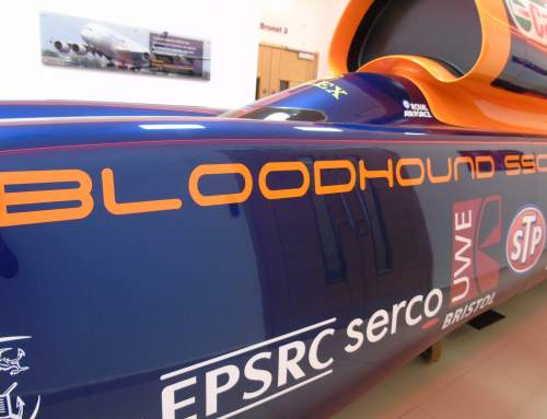 A closer look at the Bloodhound SSC visiting the Renishaw Innovation Centre