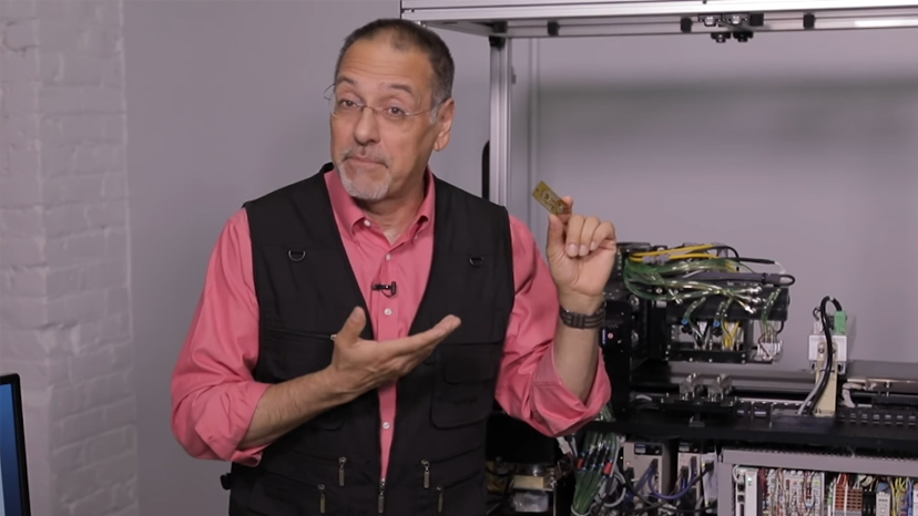 CNET's Brian Cooley visits FATHOM and see the Nano Dimension Dragonfly 2020. Photo via FATHOM.