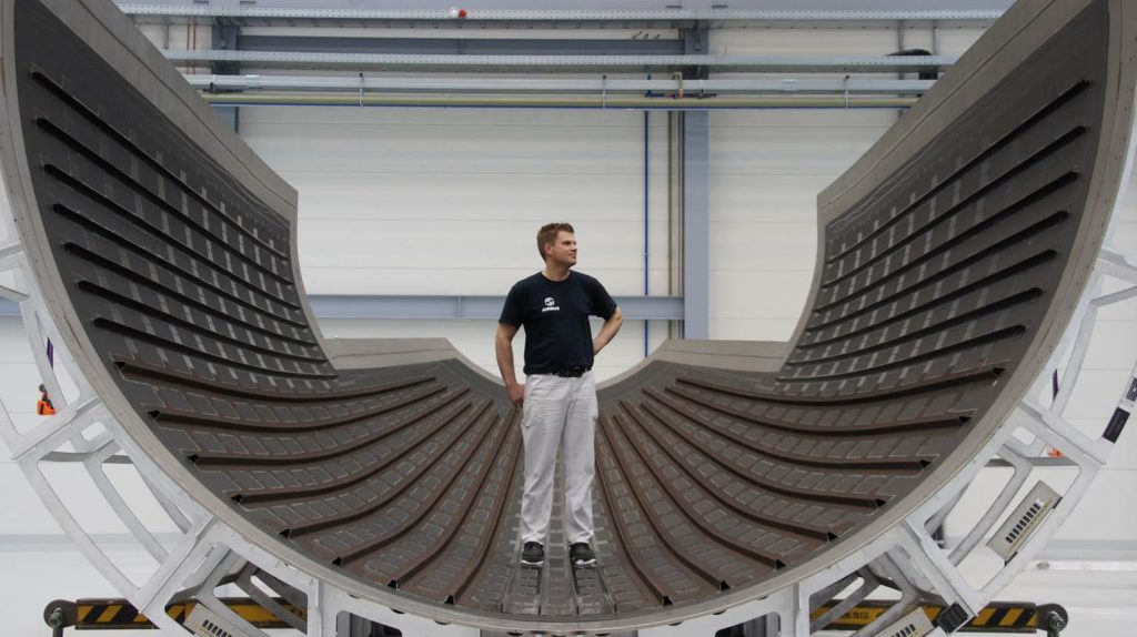 CTC are also working on the production of large scale parts for aerospace. Photo via CTC.