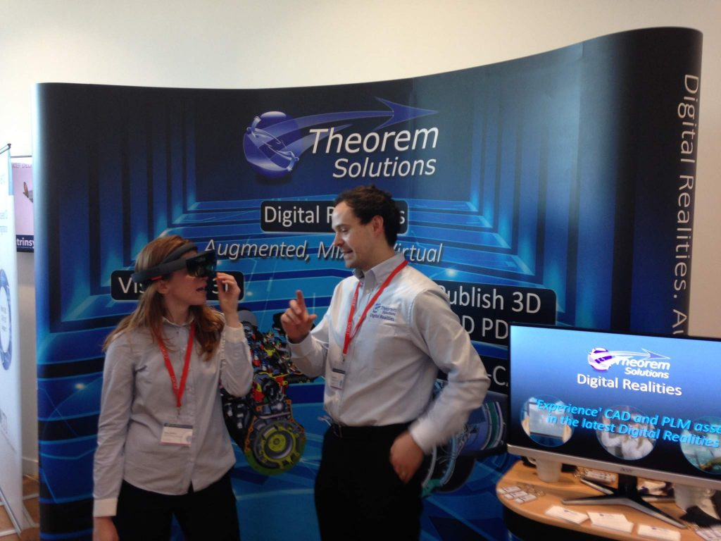 3D Printing Industry's Beau Jackson speaking with Theorem Solutions about AR product design.