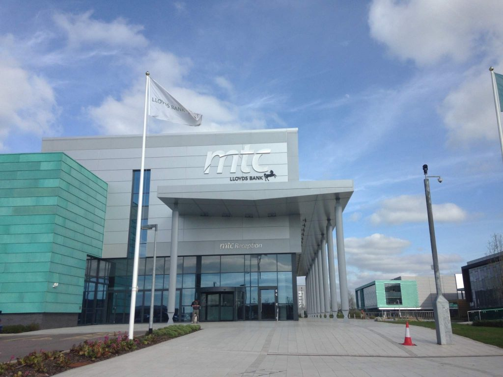 Venue for the UKIEF: Lloyds Bank Advanced Manufacturing Training Centre (AMTC) in Coventry, UK. Photo by Beau Jackson