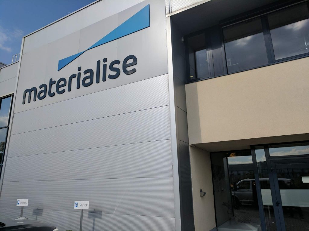 Materialise Leuven HQ. Photo by Michael Petch.