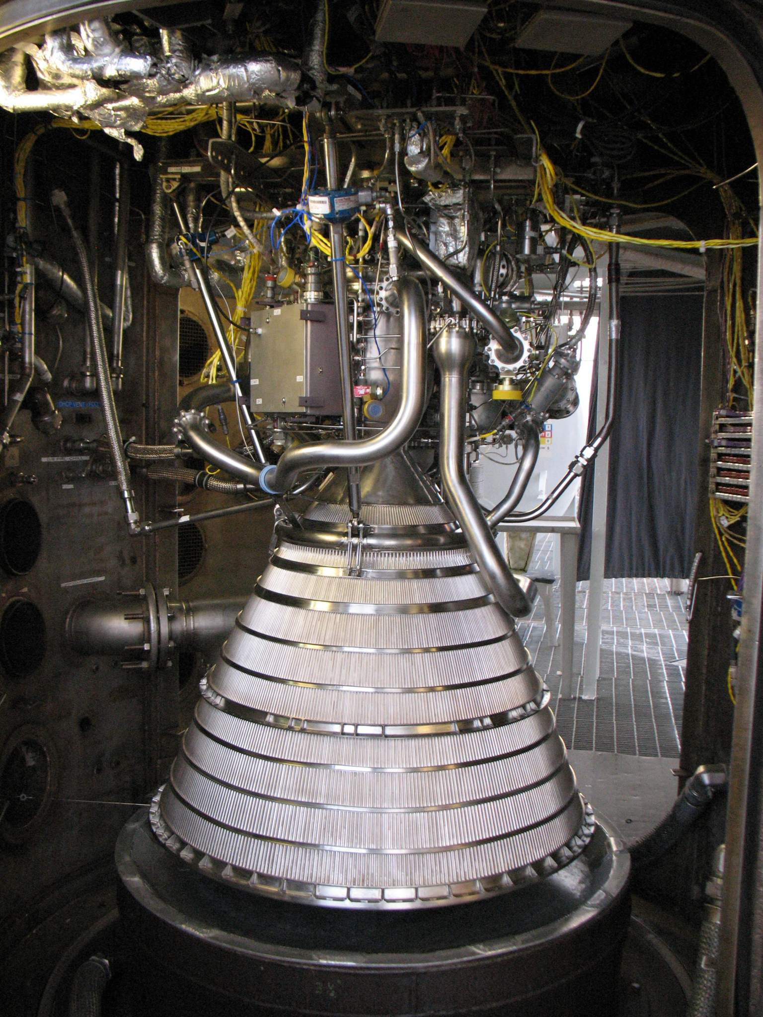 The RL10c-1 engine created by Aerojet Rocketdyne.