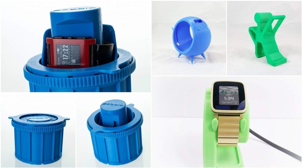 A selection of Pebble related 3D prints from MyMiniFactory.