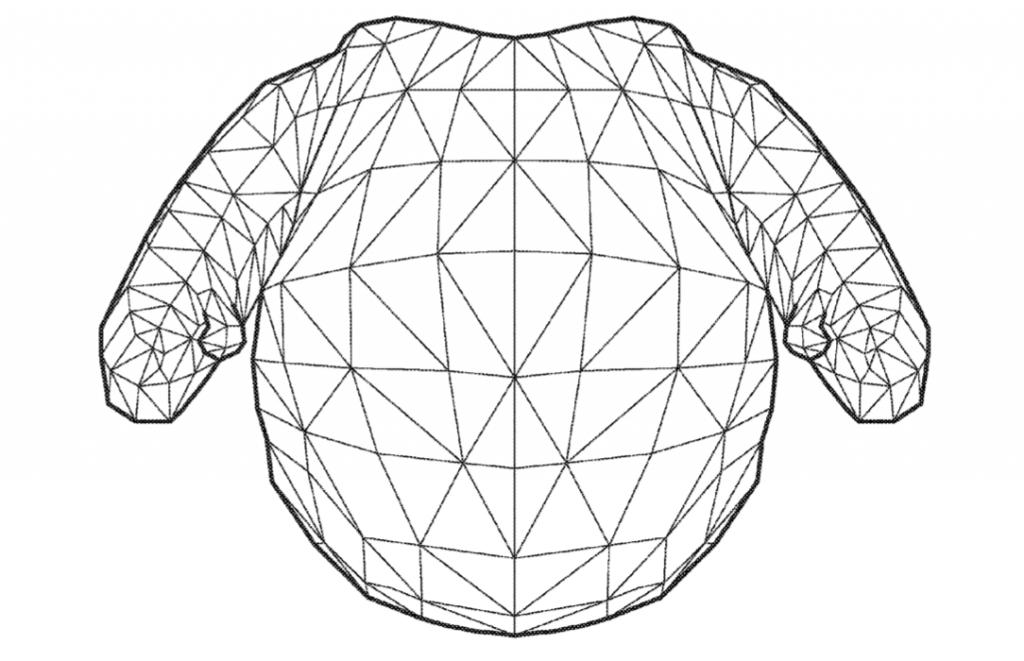 Geometric draft of the soft robot. Image via Amane; Katsu; et al.