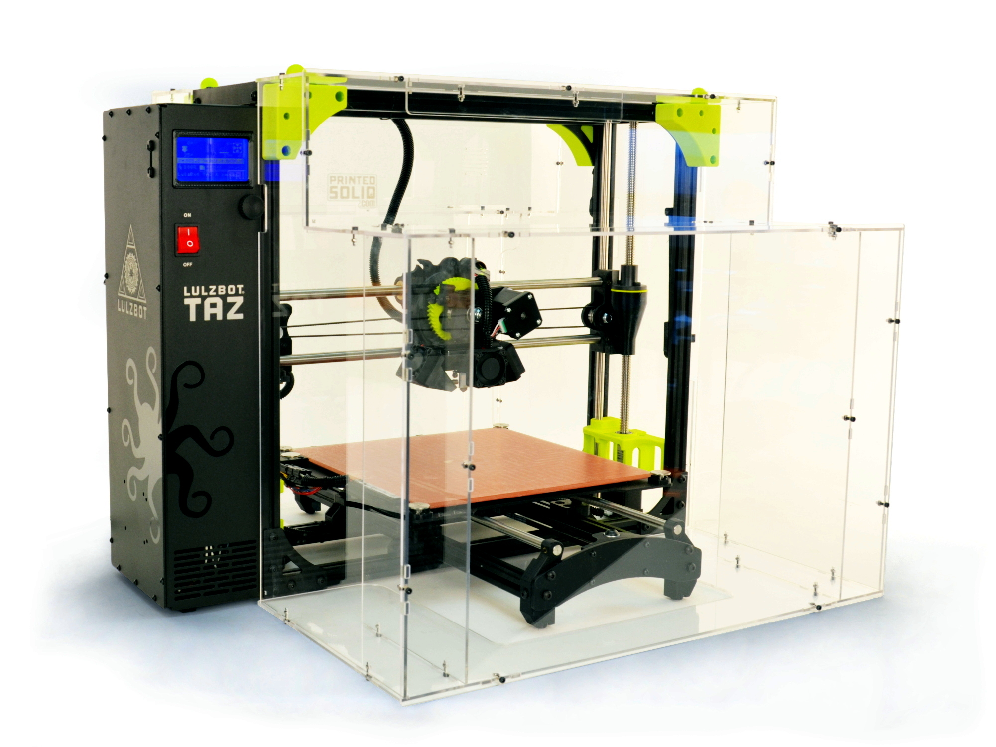 The LulzBot TAZ 6 enclosure. Image via LulzBot.