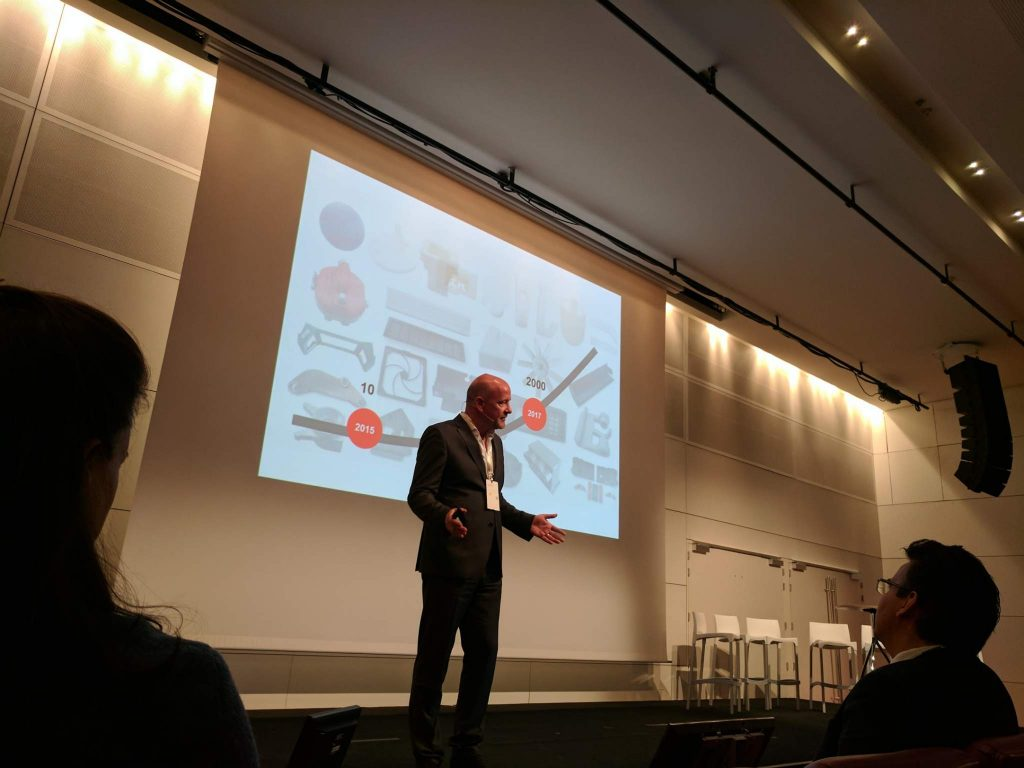 Uwe Fresenborg at the 2017 Materialise World Summit. Photo by Michael Petch.