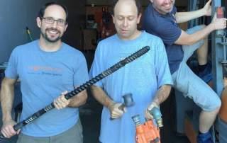 The team behind Proto-pasta. Photo via Proto-pasta.