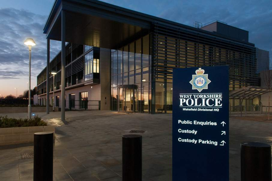 West Yorkshire Police Wakefield division HQ. Photo via westyorkshirepoliceimaging on Flickr