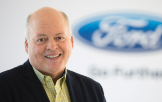 Jim Hackett, appointed as CEO. Photo via Ford.